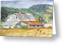 Willamette Valley Barn Greeting Card