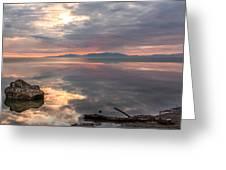 Willard Bay Greeting Card
