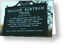 William Bartram Greeting Card