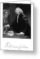 William Cullen (1710-1790) Greeting Card by Granger