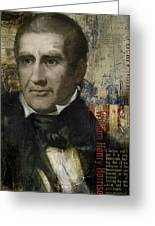 William Henry Harrison Greeting Card by Corporate Art Task Force