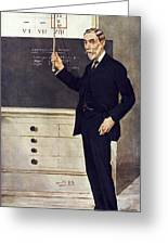 William Ramsay, Scottish Chemist Greeting Card by Science Photo Library