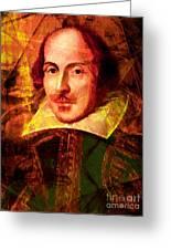 William Shakespeare 20140122 Greeting Card