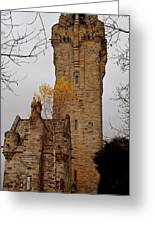 William Wallace Monument Scotland Greeting Card