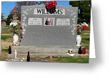 Williams Grave Greeting Card