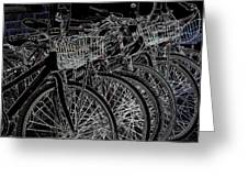 Williamsburg Bikes Greeting Card