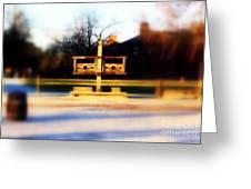 Williamsburg Stocks Greeting Card