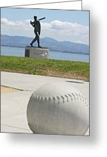 Willie Mccovey -- Giants 2014 World Champs Greeting Card