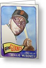 Willie Mccovey Greeting Card