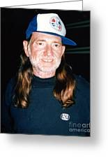 Willie Nelson 1988 Greeting Card