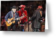 Willie Nelson - Live In Austin Greeting Card