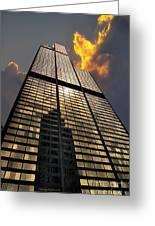 Willis Sears Tower Greeting Card