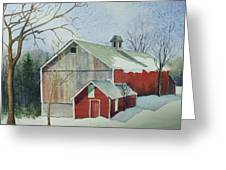 Williston Barn Greeting Card
