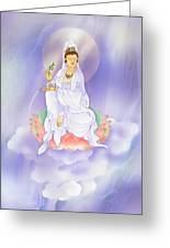 Willow Kuan Yin Greeting Card