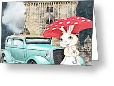 Willy The Wabbit Urrr I Mean Rabbit Greeting Card