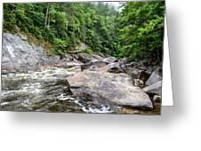 Wilson Creek Greeting Card by Bob Jackson