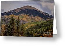 Wilson Peak Colorado Greeting Card