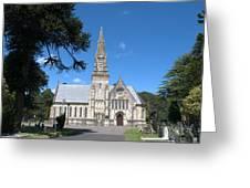 Wimborne Road Cemetery Greeting Card