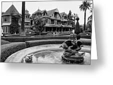 Winchester House - San Jose California Greeting Card