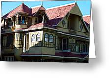 Winchester Mystery House 2 Greeting Card