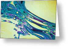 Wind And Water Greeting Card