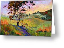 Wind In The Wisp Greeting Card by Erin Hanson