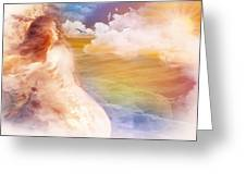Wind Of His Glory Greeting Card by Jennifer Page