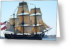 Wind On Sail Greeting Card