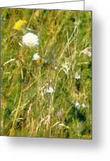 Wind Through The Meadow Greeting Card