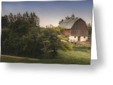 Winding Home Greeting Card