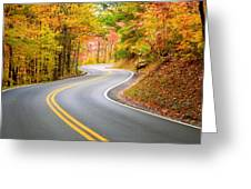 Winding Road Greeting Card