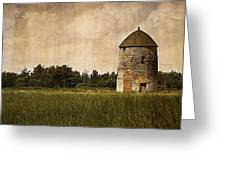 Windmill Greeting Card by Lesley Rigg