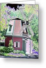 Windmill - Photopower 1555 Greeting Card