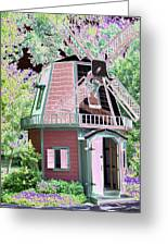 Windmill - Photopower 1556 Greeting Card