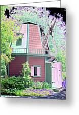 Windmill - Photopower 1557 Greeting Card