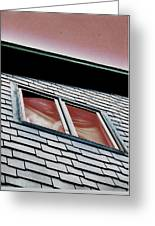 Window Above Greeting Card by Stephanie Grooms