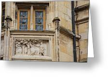 Window And Relief Palace Ducal Greeting Card