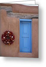 Window And Ristra Greeting Card