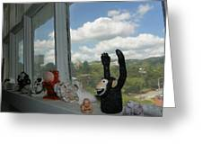 Window Buddies Greeting Card