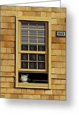 Window Cat    No.1 Greeting Card