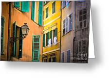 Window Cornucopia Greeting Card