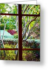 Window Garden Greeting Card