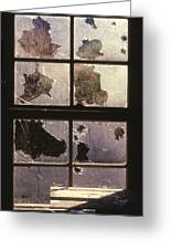 Window Holes Greeting Card