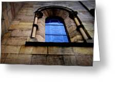 Window In Otterburg Greeting Card