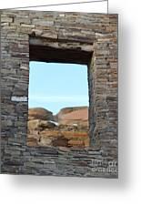 Window In Time Greeting Card