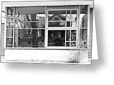 Window In Window Greeting Card