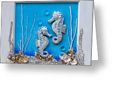Window Into A Watery World 1 Greeting Card
