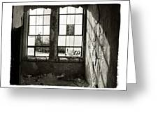 Window Light Greeting Card by Tanya Jacobson-Smith