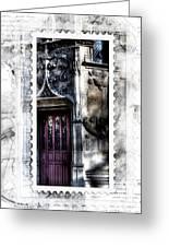 Window Of Renaissance Paris France Greeting Card