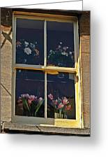 Window Of The Cotswolds Greeting Card